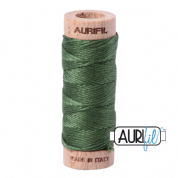 Aurifloss - 6-strand cotton floss - 2890 (Very Dark Grass Green)